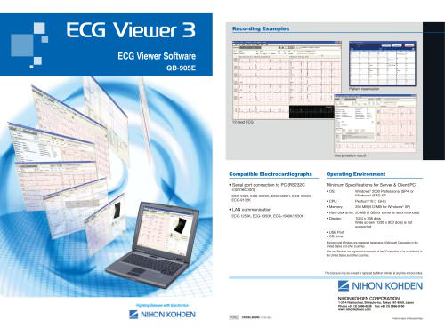 QB-905E ECG Viewer 3