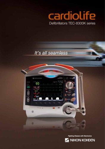 TEC-8300K series cardiolife Defibrillators