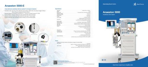 Anaeston 5000 Anesthesia Machine Brochure