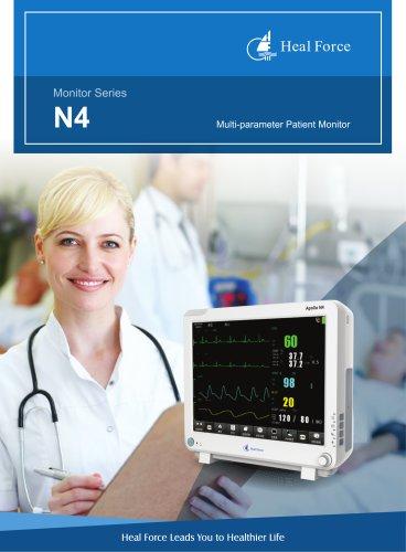 Apollo N4 multi-parameter monitor brochure