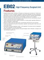 EB02 High Frequency Surgical Unit - 2