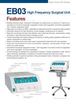 EB02 High Frequency Surgical Unit - 3