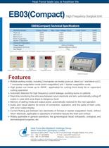EB03(Compact) High Frequency Surgical Unit - 2