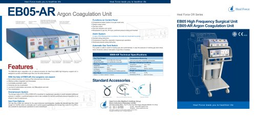 EB05 High Frequency Surgical Unit