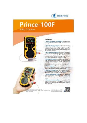 Heal Force Handheld Pulse Oximeter Prince-100F
