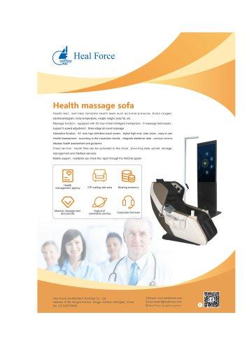 Heal Force Health Massage Sofa