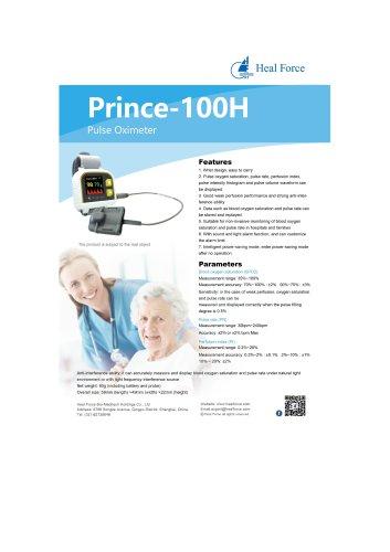 Heal Force Wrist Pulse Oximeter Prince-100H (Bluetooth 4.0 optional)