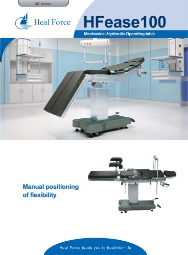 HFease100 Mechanical-Hydraulic Operating table