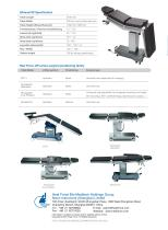HFease100 Mechanical-Hydraulic Operating table - 4