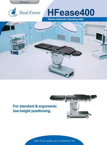 HFease400 Electro-Hydraulic Operating table