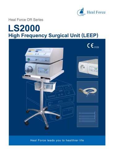 LS2000 High Frequency Surgical Unit