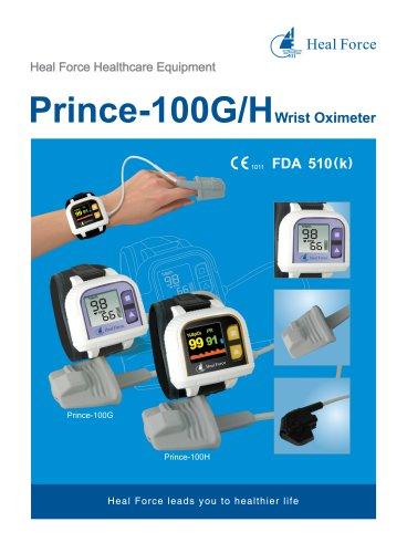 Prince 100G/H Wrist pulse Oximeter