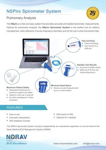 System Spirometer NSPiro