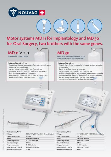 MD11 Motor System for Implantology 2019