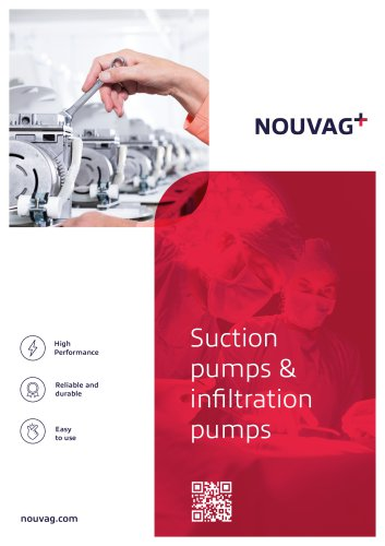 Suction pumps & infiltration pumps