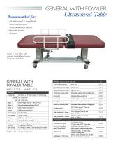 General Ultrasound Table - 2