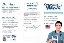Ultrasound Table Tri-fold Brochure - 1