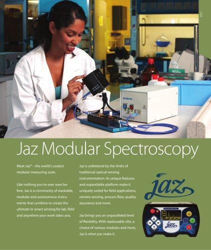 Jaz Modular Spectroscopy