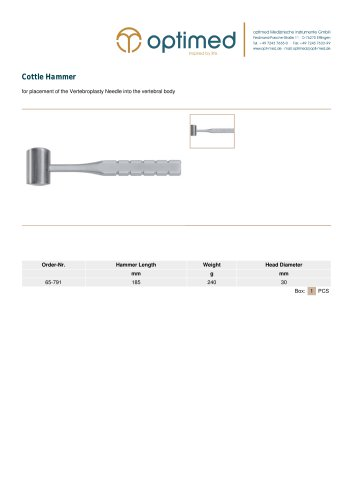 Cottle Hammer
