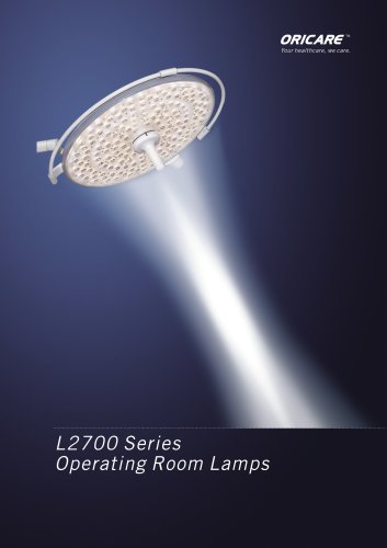 L2700 Series Operating Room Lamps