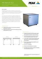MS Bench - Data Sheet (All Models)