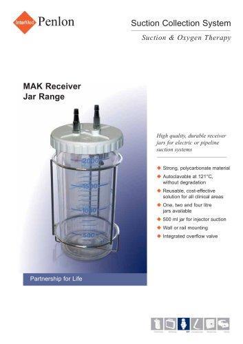 MAK Receiver Jar Range