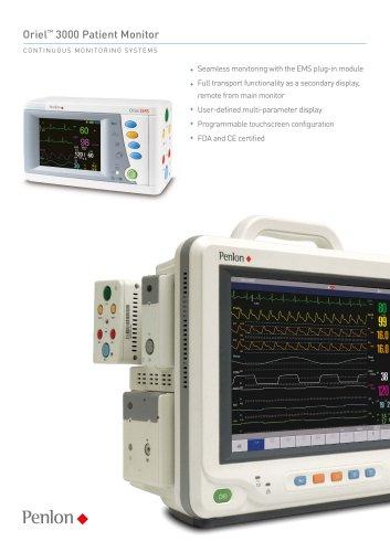Oriel? 3000 Patient Monitor