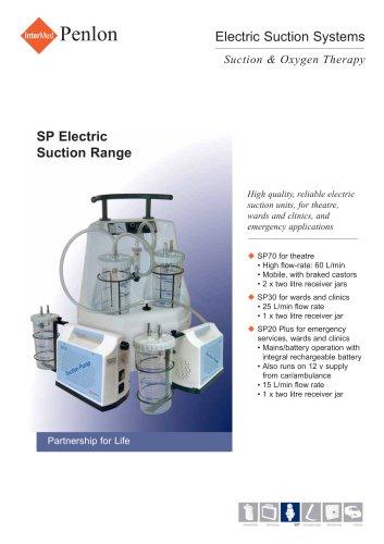 SP Electric Suction Range