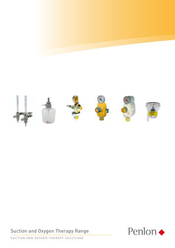 Suction and Oxygen Therapy Range