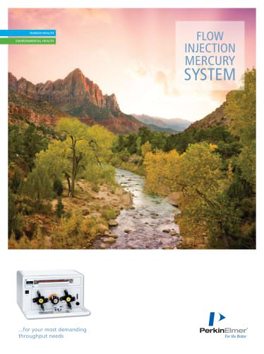 FIMS 100/400 Flow Injection Mercury Systems Brochure