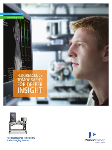 FMT Fluorescence Tomography In Vivo Imaging Systems - 2013