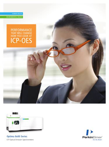 Optima 8x00 ICP-OES Spectrometers Brochure