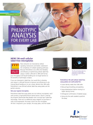 Phenotype Analysis For Every Lab