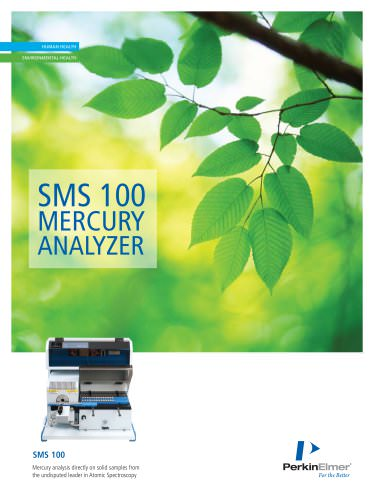 SMS 100 Mercury Analyzer Brochure