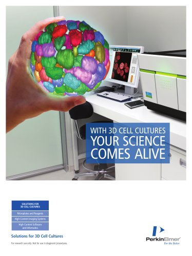 SOLUTIONS FOR 3D CELL CULTURES