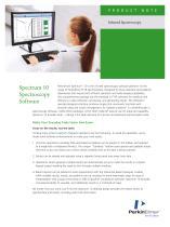 Spectrum 10 Spectroscopy Software