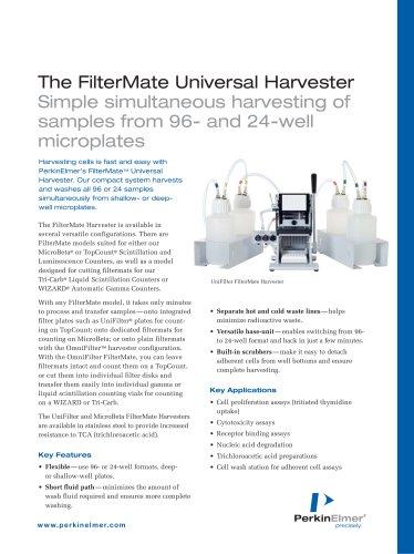 The FilterMate Universal Harvester