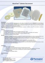AbsoClear catheter Securement - 1