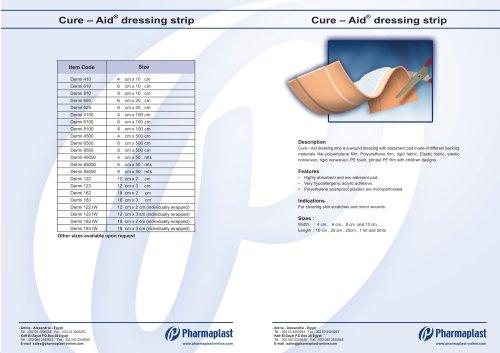 Cure – Aid® dressing strip Dermiplast