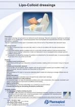 Lipo-Colloid dressings - 1