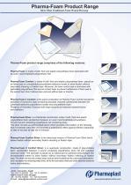 Pharma-Foam Product Range - 1