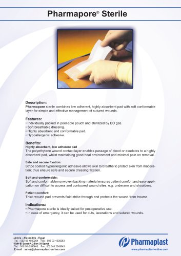 Pharmapore® Sterile
