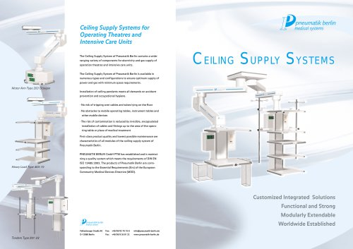CEILING SUPPLY SYSTEMS