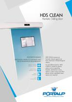 HDS CLEAN - Hermetic sliding door