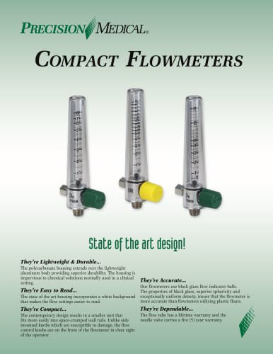 Compact Flowmeter Brochure