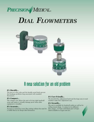 Dial Flowmeter Brochure