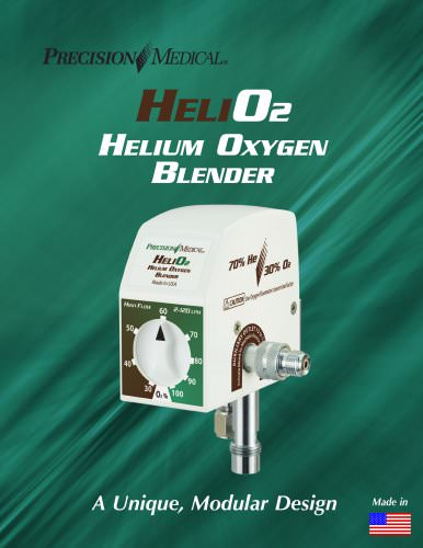 HeliO2 Helium-Oxygen Blender Brochure