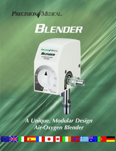 International Air-Oxygen Blender Brochure