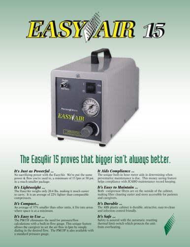 PM15 EasyAir Compressor Brochure