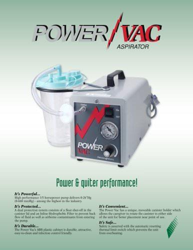 PM61 PowerVac Aspirator